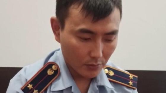 Полицейский записал видео