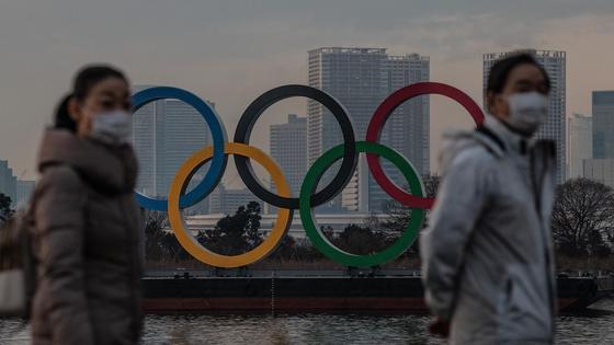 Эмблема Олимпиады в Токио