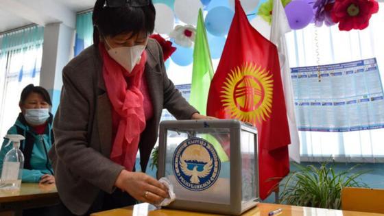 сайлау қырғызстан