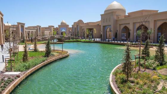 Керуен-сарай в Туркестане