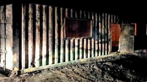 Пожар в Костанайской области