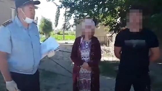 Подозреваемые в Жамбылской области