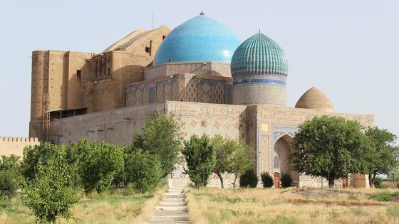 Мавзолей Ходжи Ахмеда Ясави в Туркестане