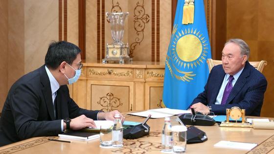 Досаев и Назарбаев