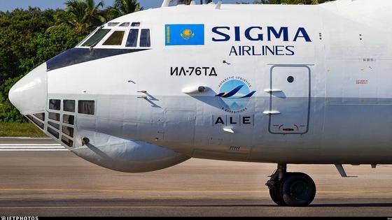 Самолет авиакомпании Sigma Airlines