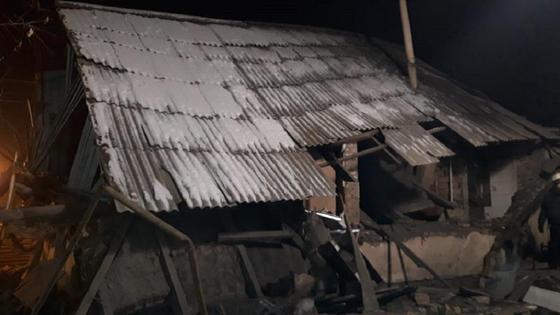 Взрыв в доме в Талдыкоргане