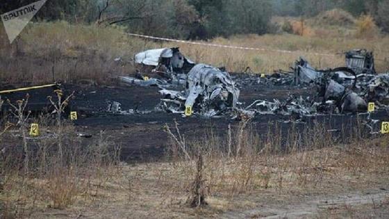Крушение самолета под Алматы