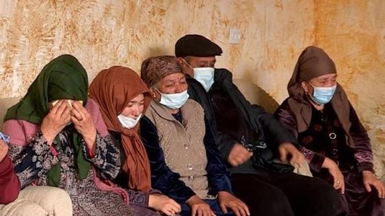 Родственники погибшего в Туркестанской области
