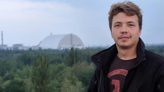 Белорусский оппозиционный журналист Роман Протасевич