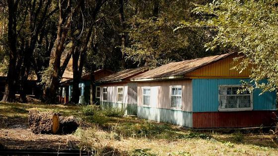 Дома, расположенные в поселке