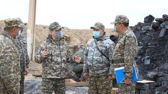 Министр обороны совершил рабочую поездку  в южный регион страны