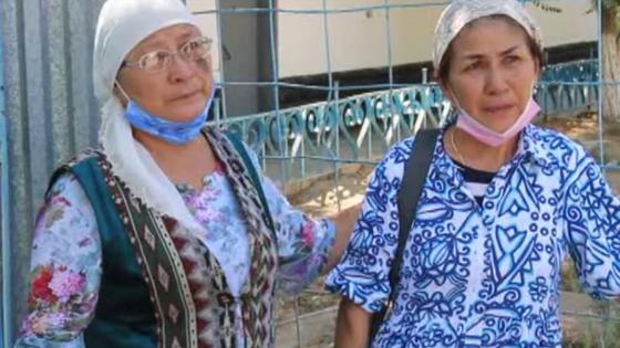 Родственники погибших в Актау