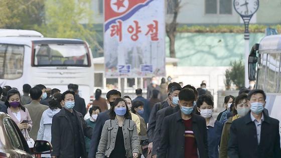 Жители Северной Кореи