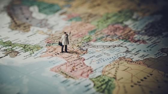 Фигурка на карте