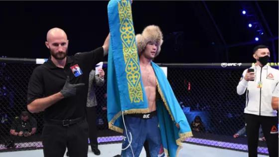Шавкат Рахмонов UFC 1