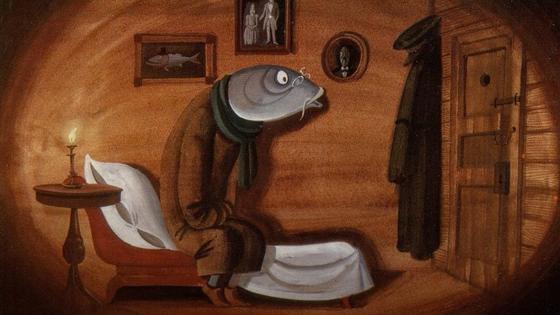 «Премудрый пескарь». Салтыков-Щедрин. Иллюстрация