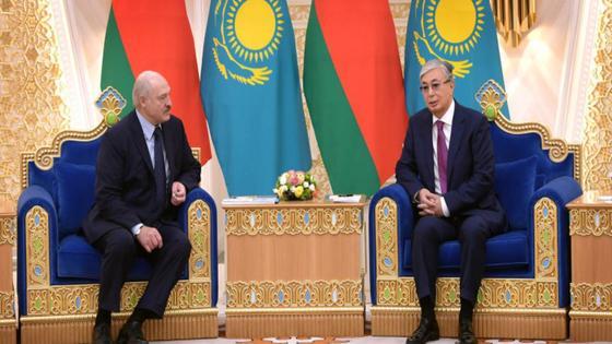 Тоқаев пен Лукашенко
