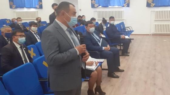 Багдаулет Туктибаев на Совете по этике