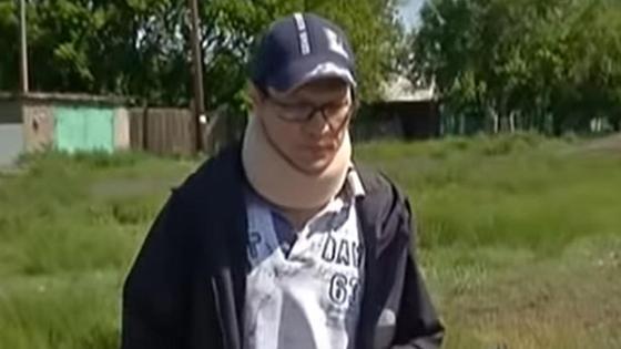 Пострадавший россиянин Рустам Нигматов