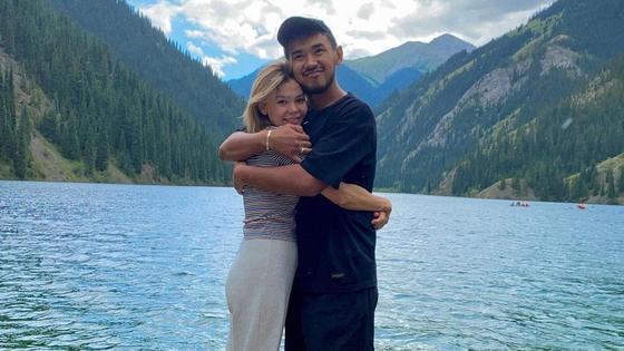 Абай Асылхан с женой