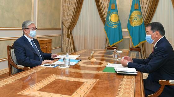 Касым-Жомарт Токаев и Кайрат Мами