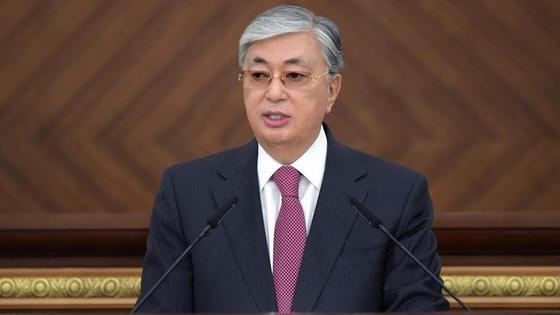 Касым-Жомарт Токаев в парламенте