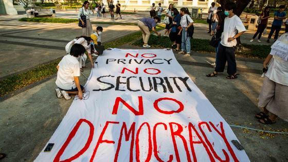Протесты в Таиланде