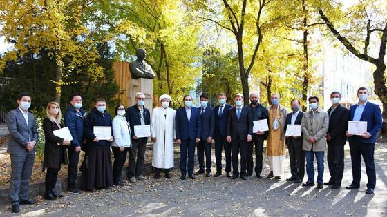 Встреча с членами городского клуба лидеров религиозных объединений