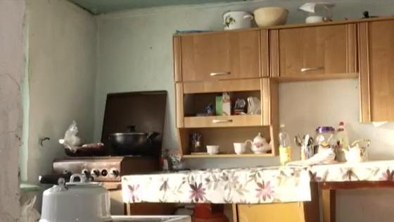 Кухня в летнем домике