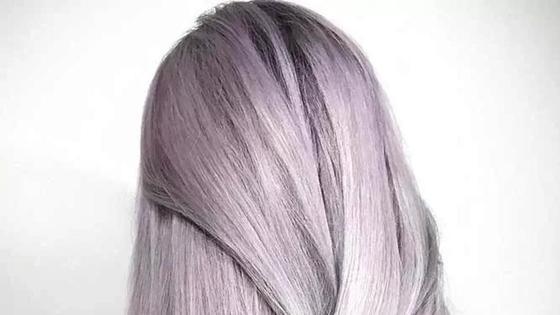 Пепельный цвет волос: кому идет