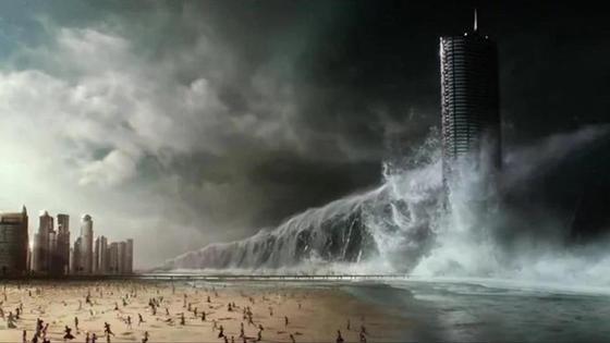 Кадр из фильма-катастрофы