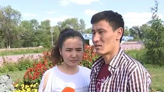 Абзал Адилов и Жамила Байсерикова
