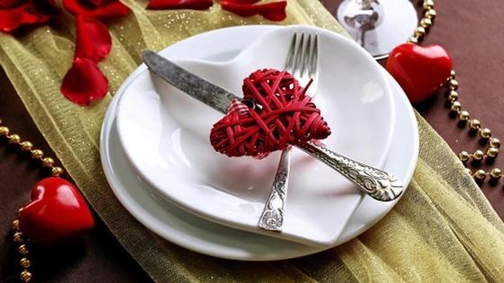 декор на тарелке