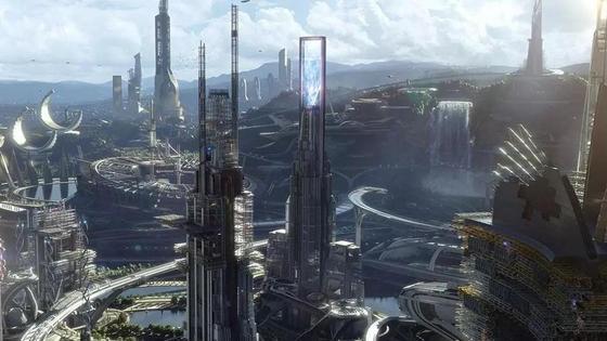 Кадр из фантастического фильма