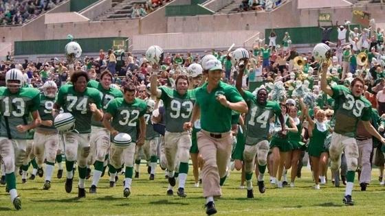Кадр из фильма «Мы — одна команда» (2006)