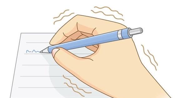 трясется рука при написании