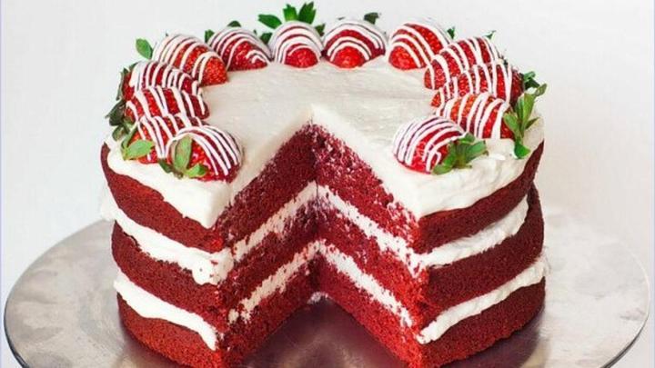 Рецепт торта «Красный бархат» в мультиварке