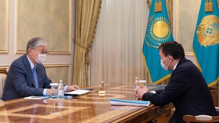 Токаев принял Шпекбаева